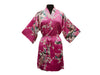Floral Print Robe - Thigh Length ( Out of stock all sizes and colors)