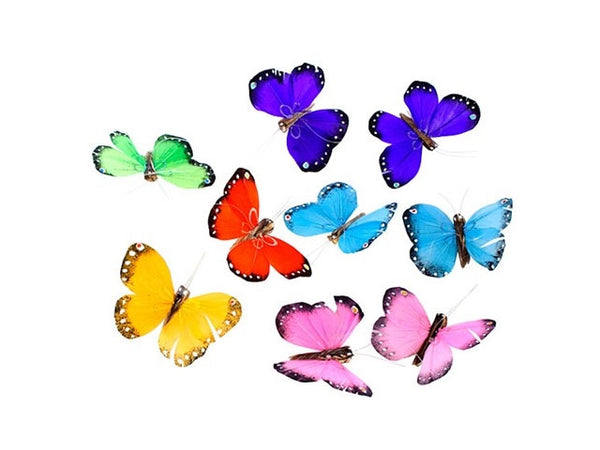 Multi Colors Butterfly Garland