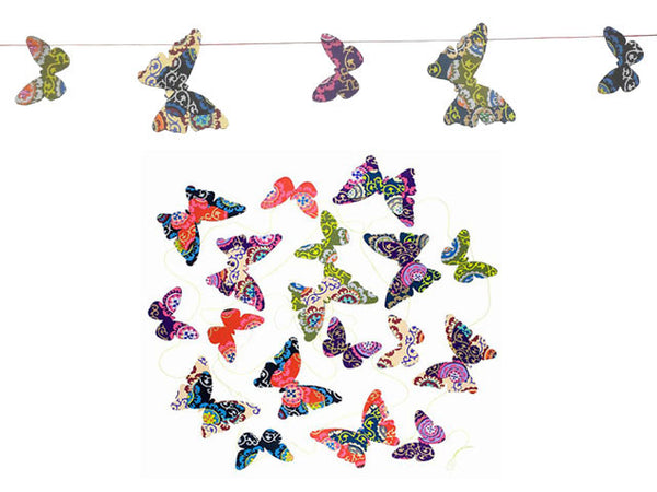 Paper Butterfly Bunting - Mystic