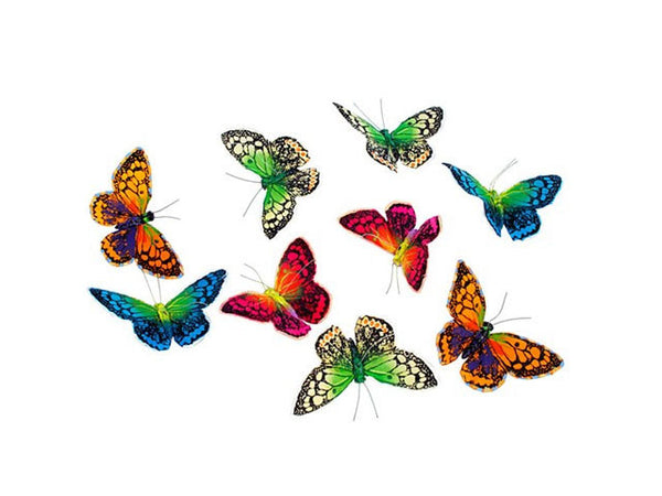 Colorful Royals Butterfly Garland