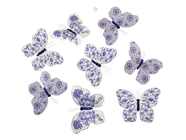 Purple Fantasy Butterfly Garland