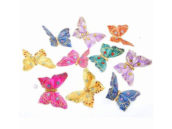 Multi Color Butterfly Garland