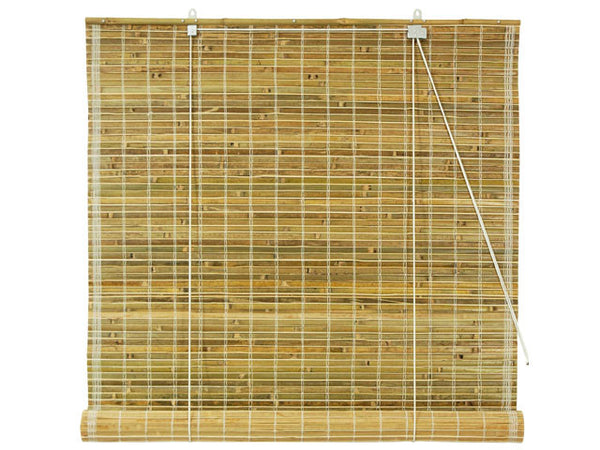 1/4 in. Slate Tortoise Bamboo Blind - Out of Stock