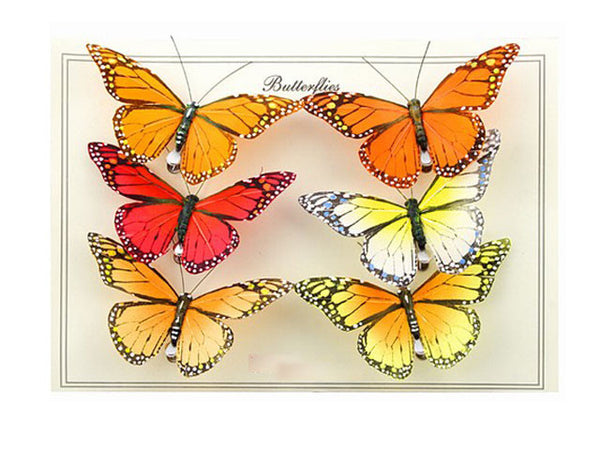 Monarch Style Butterfly Clips