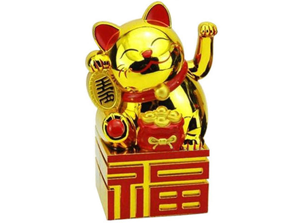 Battery Powered Hand Motion Lucky Cat on Fortune