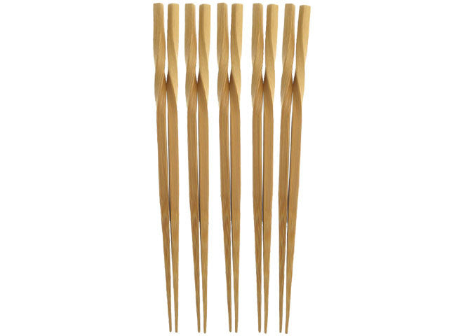 Twist Top Design Bamboo Chopsticks ( Out of Stock )