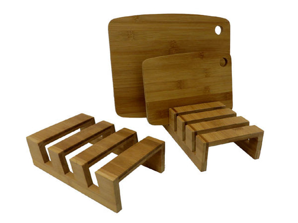Bamboo Chopping Board Stand