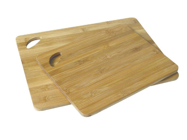 Bamboo Cutting Boards, 2 pcs Pack