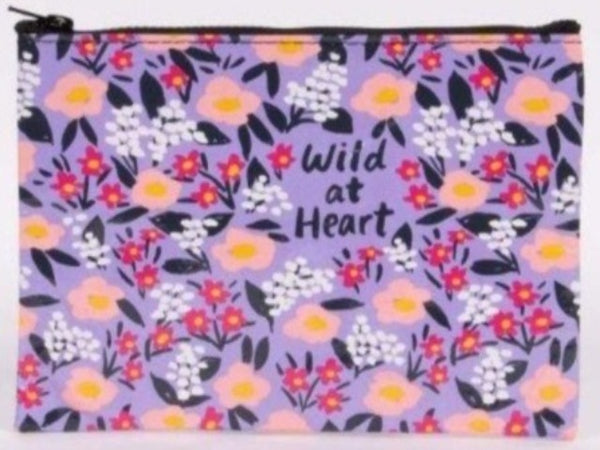 wild at heart nylon pouch