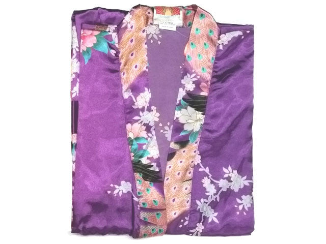 58f7bba389 Floral Print Robe - Ankle Length – Pearl River Mart