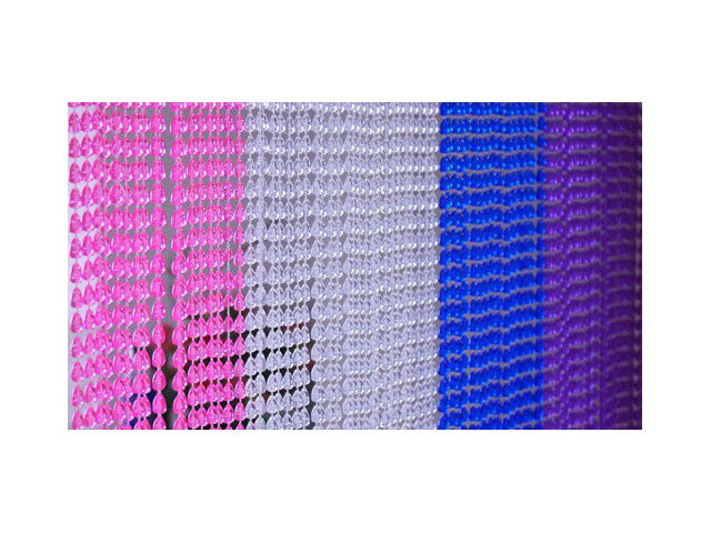 Acrylic Beaded Curtain - Round Bead