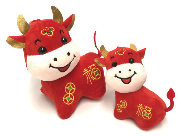 Fortune Ox Plush Toy