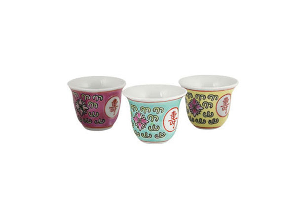 Classic Longevity Design - Hand Painted Mini Teacup