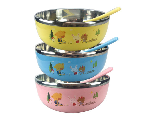 Stainless Steel Childrens Bowl
