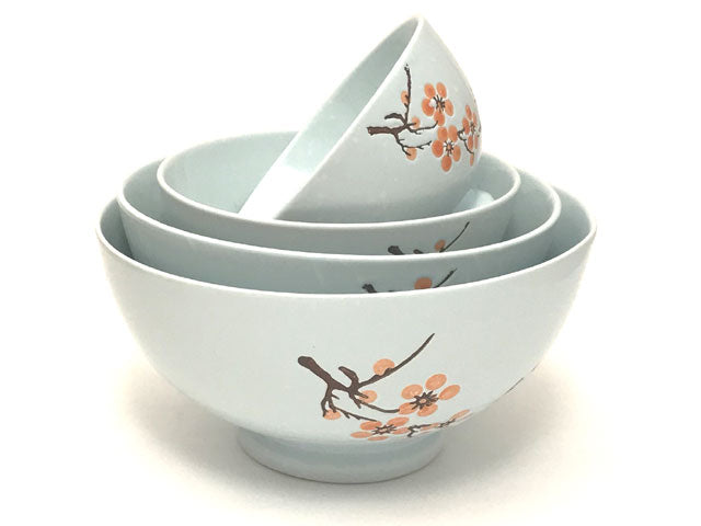 Lt. Blue Plum Blossom Design Ceramic Collection