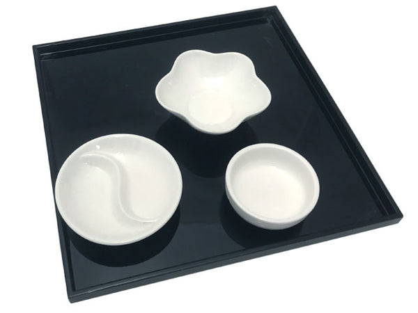 White Ceramic Sauce Dish / Bowl