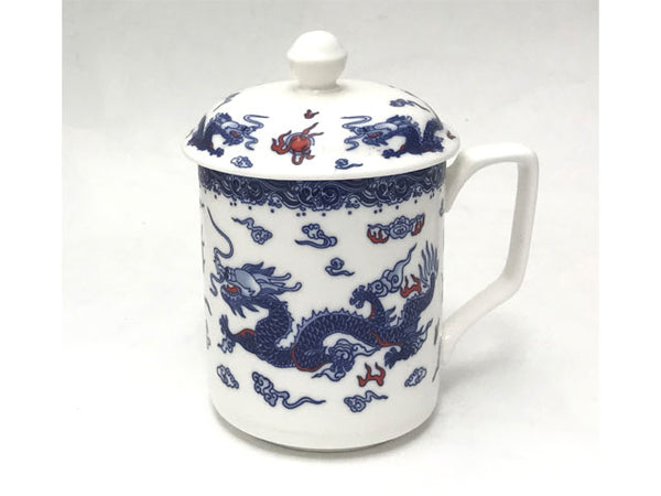 Double Dragon Design Ceramic Mug - Out of Stock