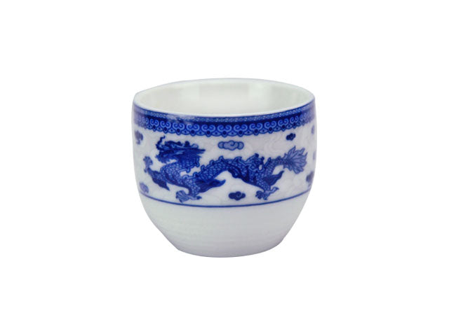 Dragon Phoenix Design Ceramic Tea Cup