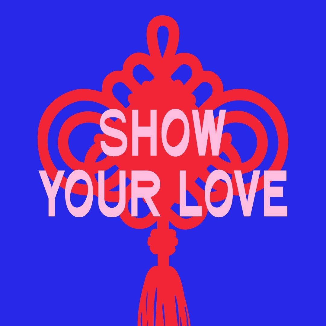 Show the Love graphic