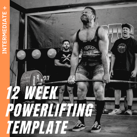 12 WEEK INTERMEDIATE+ POWERLIFTING