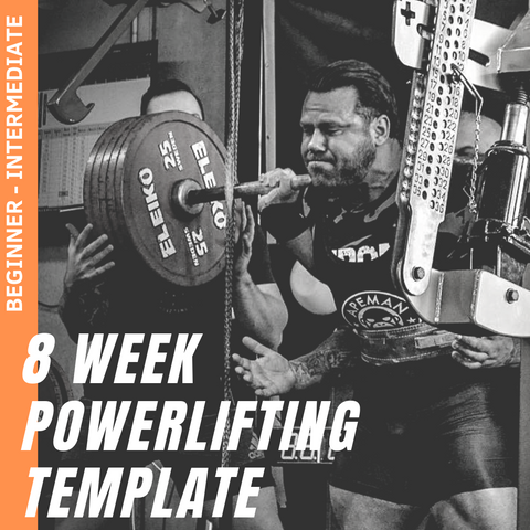 8 WEEK BEGINNER-INTERMEDIATE POWERLIFTING