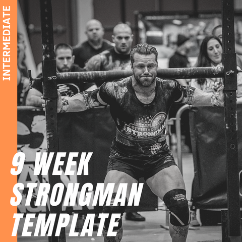 9 WEEK INTERMEDIATE+ STRONGMAN