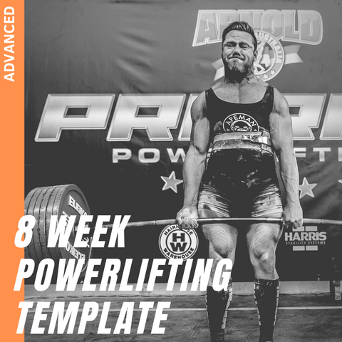 8 WEEK ADVANCED POWERLIFTING