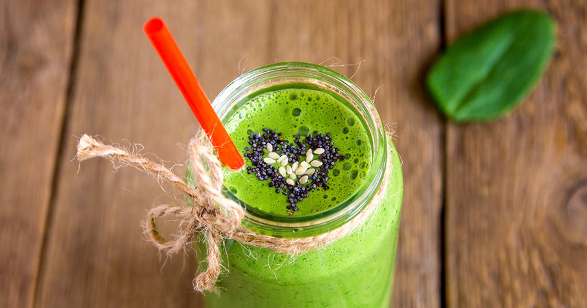 Alkalising Green Matcha Smoothie