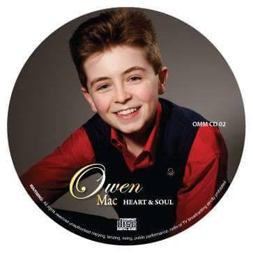 'Heart & Soul' Cd by Owen Mac