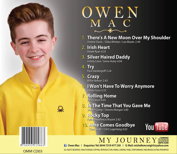 'My Journey' Album - Owen Mac