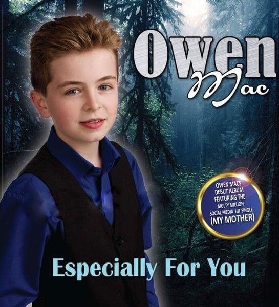 'Especially for You' Debut Cd by Owen Mac