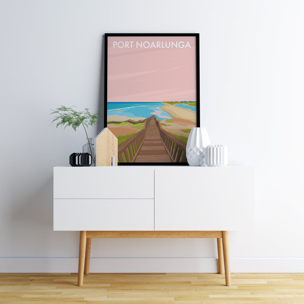 Port Noarlunga Travel Print