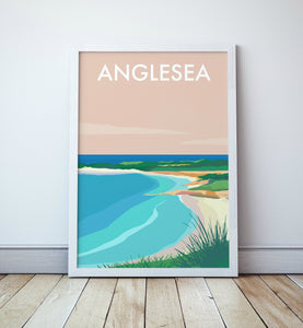 Anglesea Beach Travel Print