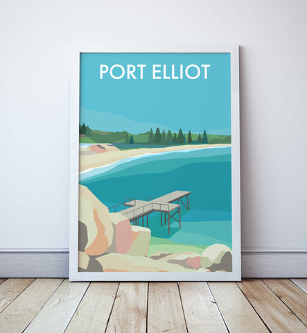 Port Elliot Beach Travel Print