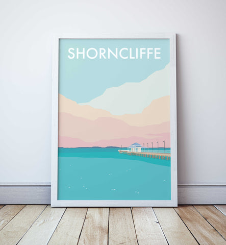 Shorncliffe Pier Travel Print