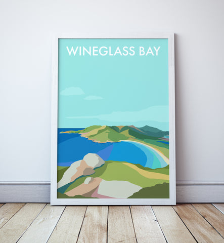 Wineglass Bay Travel Print