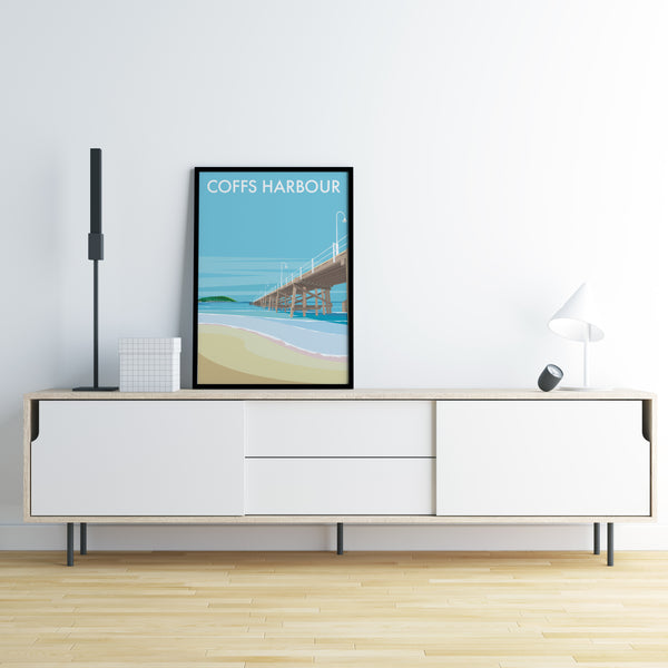 Coffs Harbour Jetty Beach Print