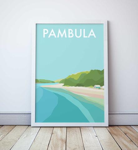 Pambula Travel Print