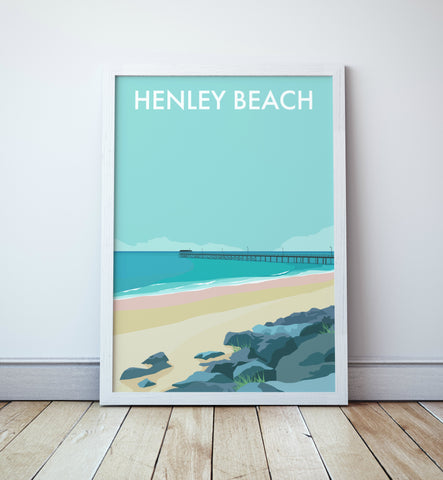 Henley Beach Travel Print