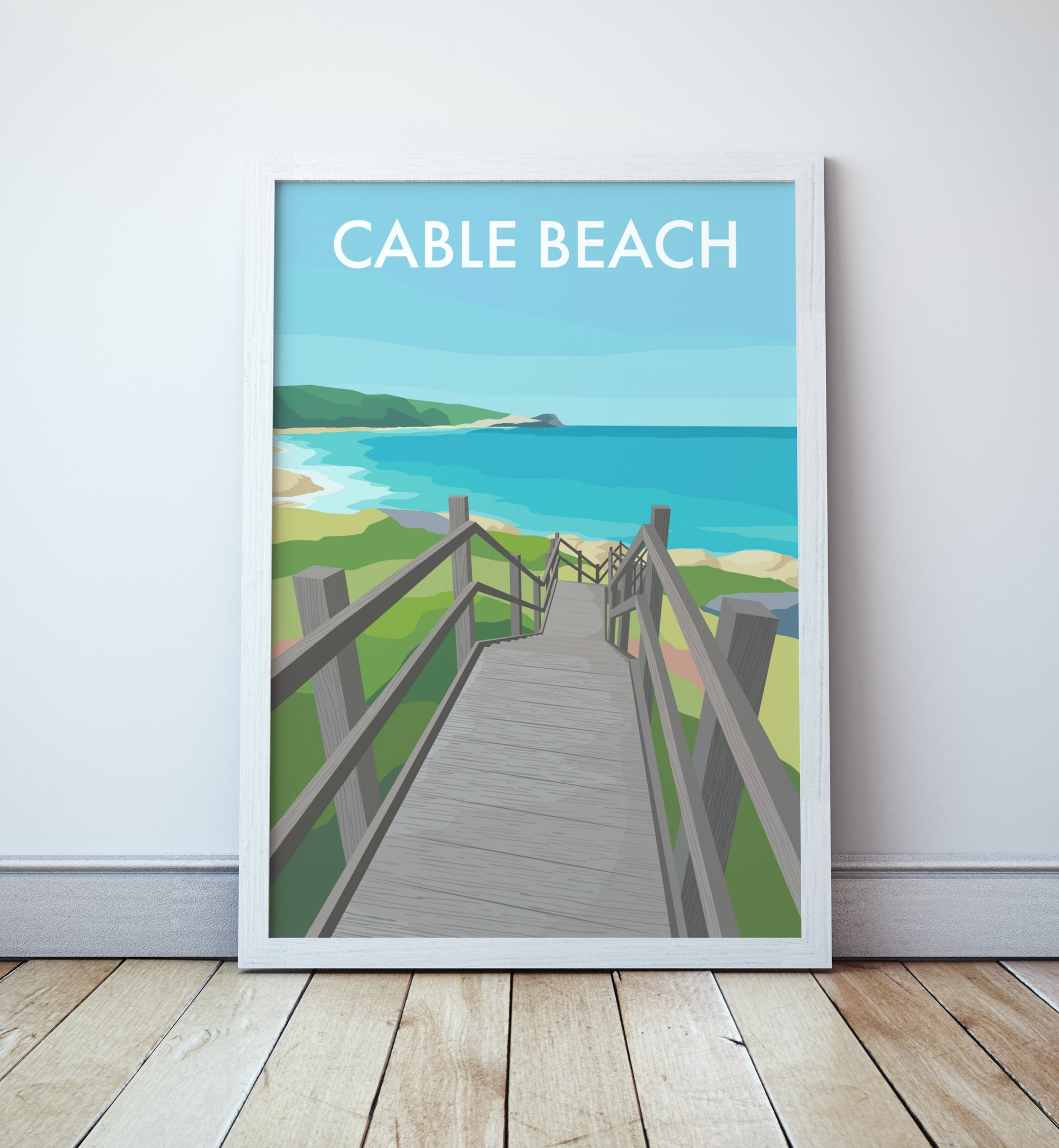Cable Beach Travel Print