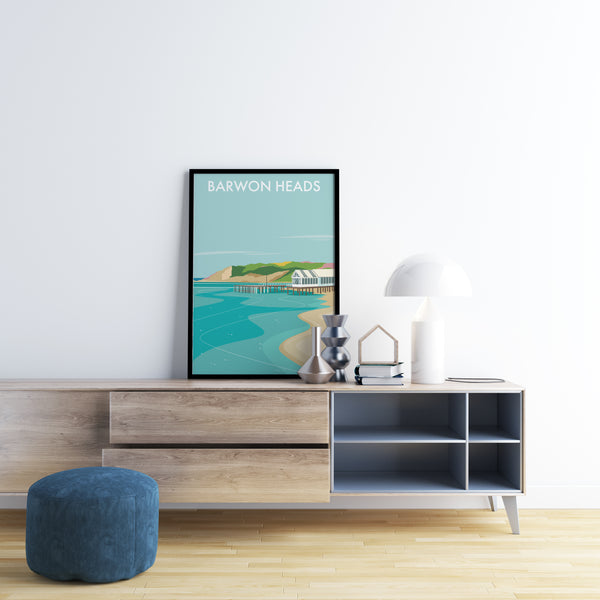 Barwon Heads Travel Print