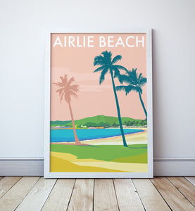 Airlie Beach Travel Print