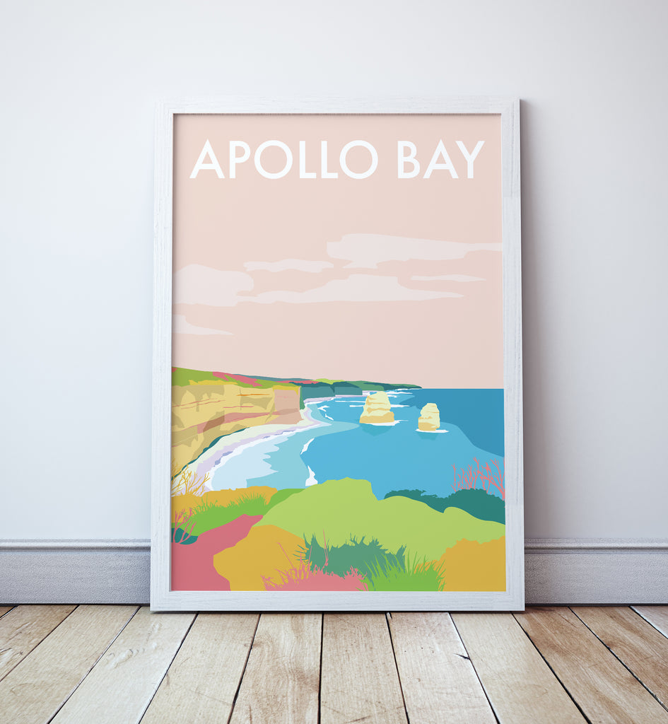 Apollo Bay Travel Print