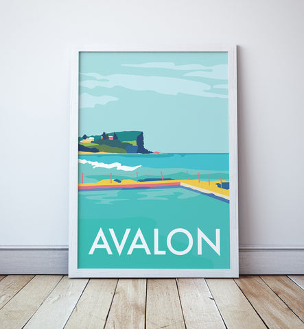 Avalon Travel Print