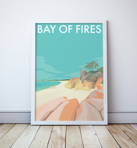 Bay of Fires Travel Print