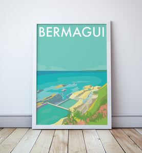 Bermagui Beach Travel Print