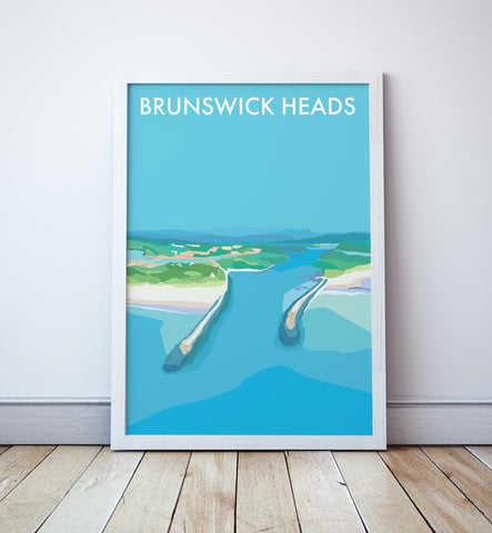 Brunswick Heads Travel Print