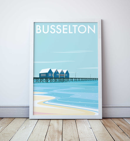 Busselton Jetty Travel Print