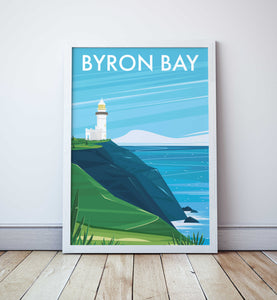 Cape Byron Travel Print