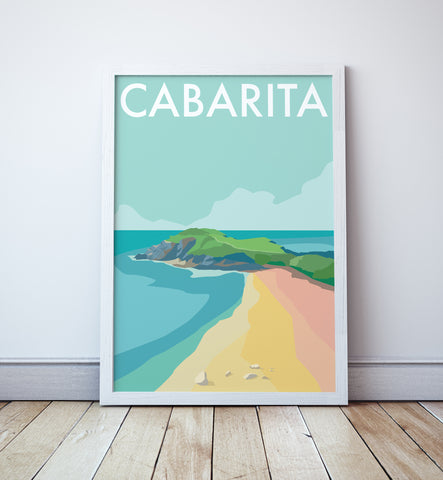 Cabarita Beach Travel Print